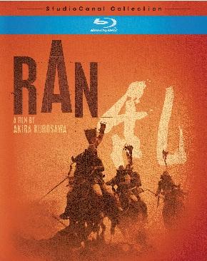 Ran - Blu-ray cover