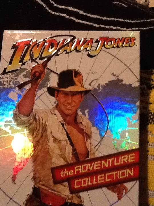 Indiana Jones The Adventure Collection -  cover