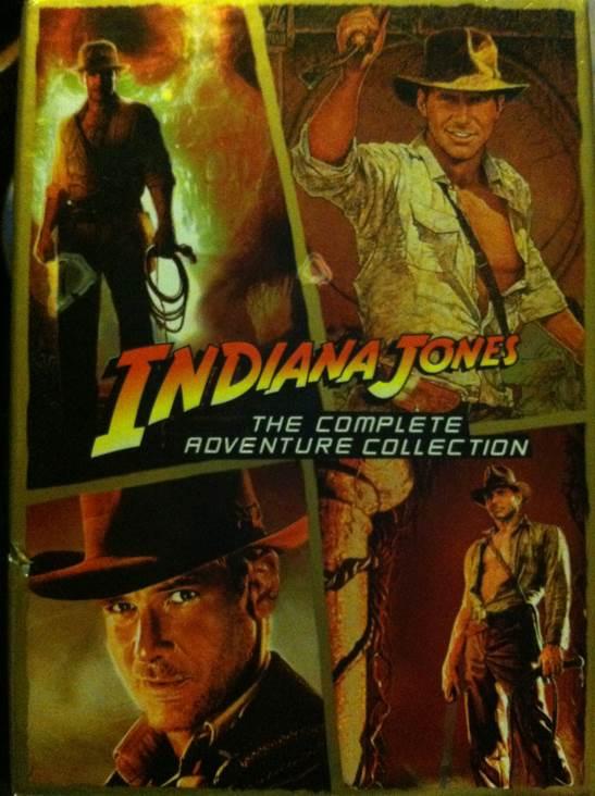 Indiana Jones: The Complete Adventures - DVD cover