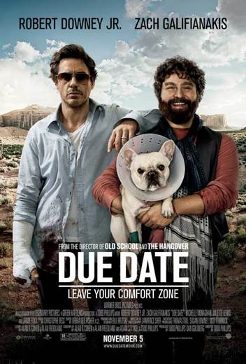 Due Date - DVD cover