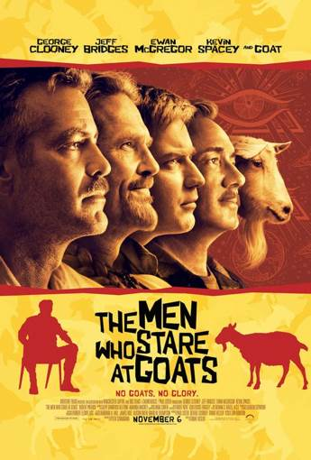 The Men Who Stare at Goats - Digital Copy cover