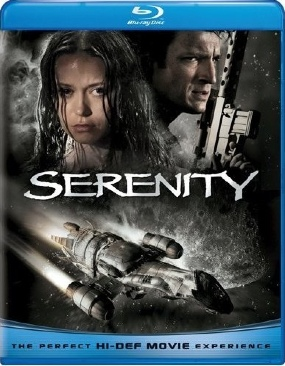 Serenity - Blu-ray cover