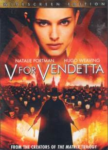 V for Vendetta - DVD cover