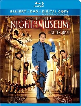 Night at the Museum - Blu-ray cover