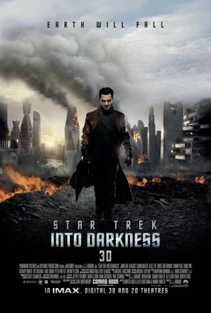 Star Trek Into Darkness - CED cover