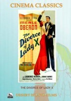 The Divorce Of Lady X -  cover