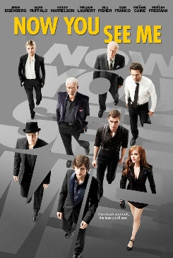 Now You See Me - DVD cover