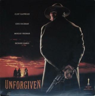Unforgiven - Laser Disc cover