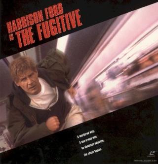The Fugitive - Laser Disc cover