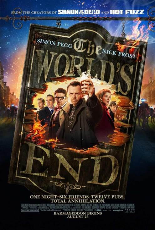 The World's End - Blu-ray cover