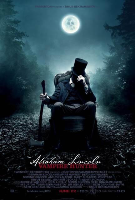 Abraham Lincoln: Vampire Hunter - DVD-R cover