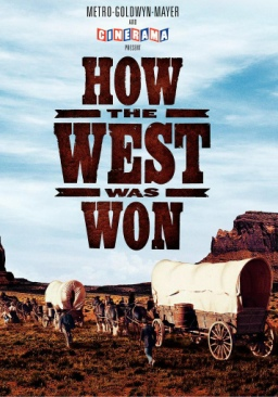 How the West Was Won - DVD cover