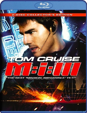 Mission: Impossible III - Blu-ray cover