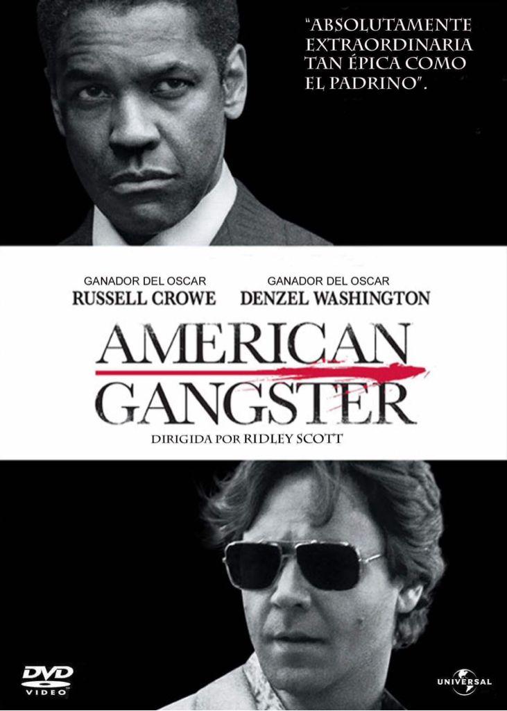 American Gangster - Blu-ray cover