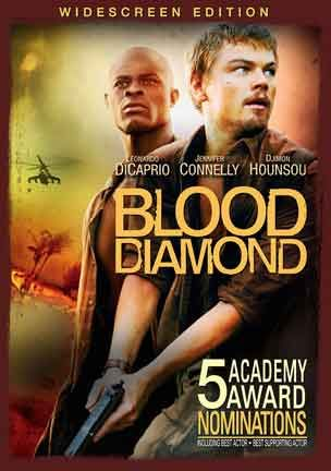 Blood diamond -  cover