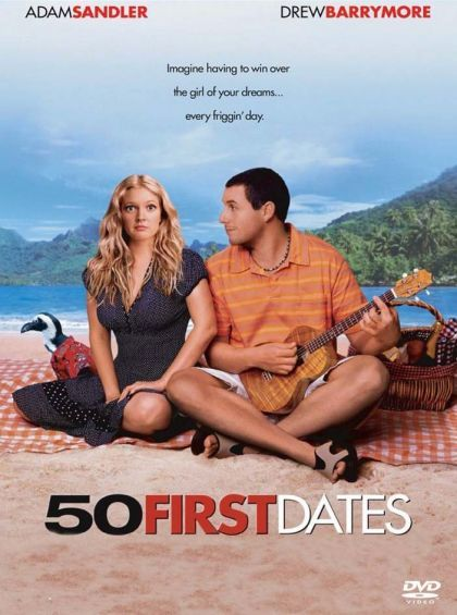 50 First Dates - DVD cover