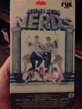 Revenge of the Nerds - Betamax cover