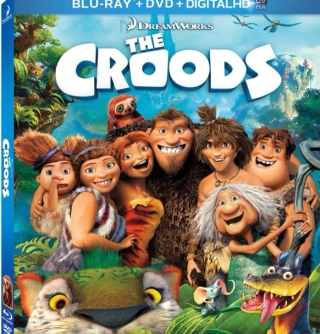 The Croods - Blu-ray cover
