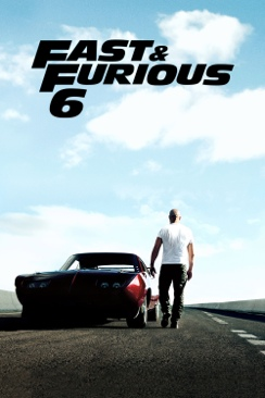 Fast And Furious 6  - Blu-ray cover