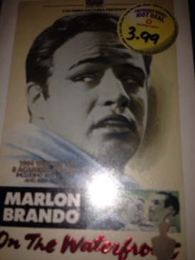 On the Waterfront - VHS cover
