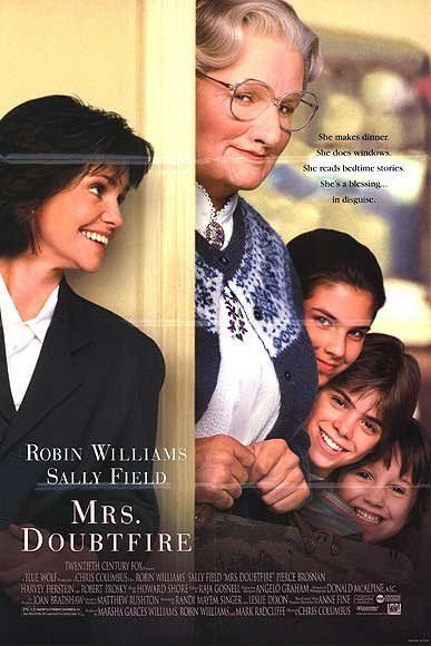 Mrs. Doubtfire - DVD cover