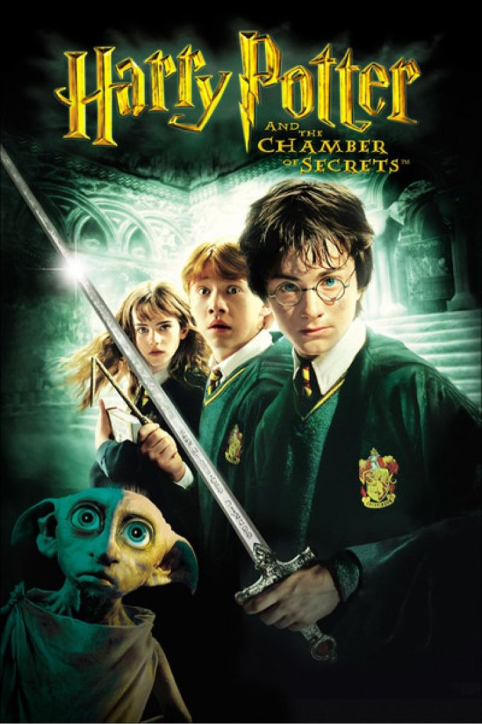 Harry Potter and the Chamber of Secrets - DVD cover