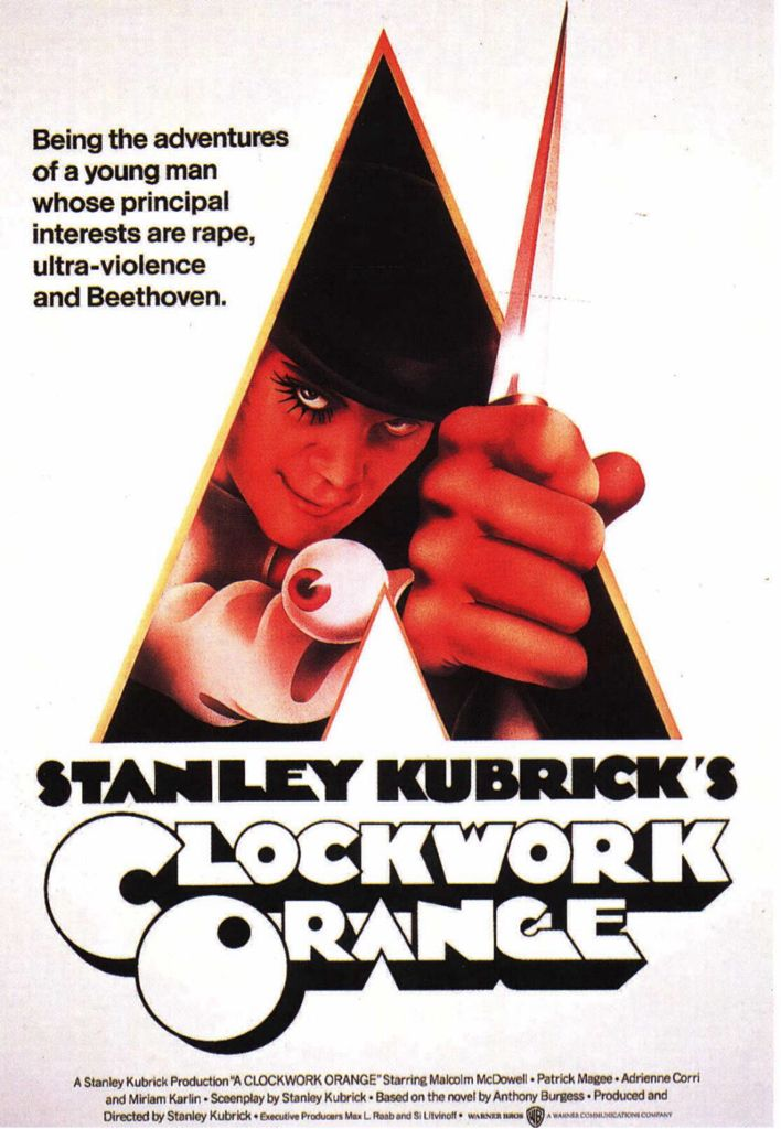 A Clockwork Orange - HD DVD cover