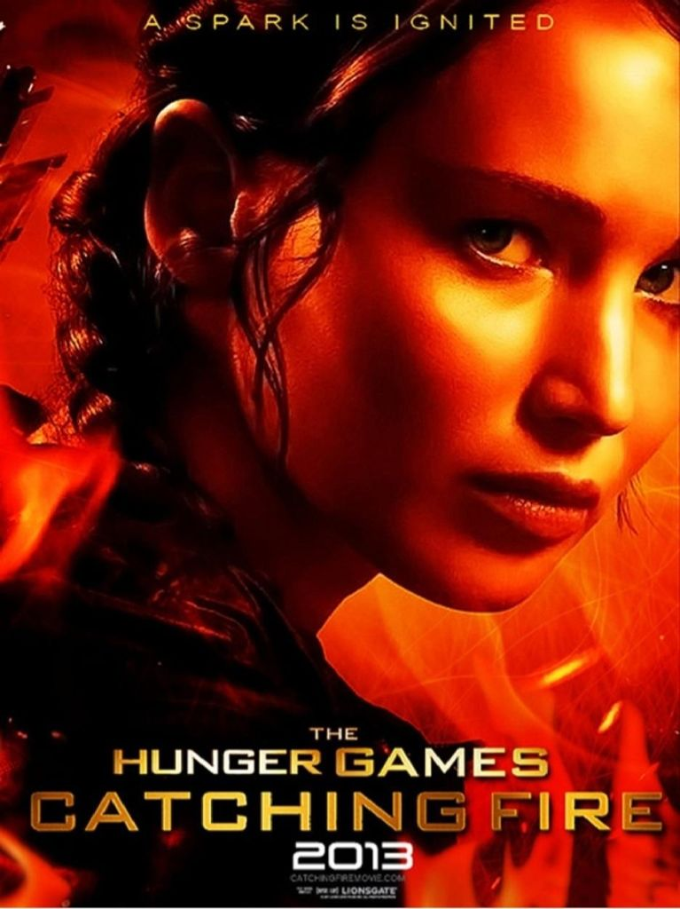 The Hunger Games: Catching Fire - DVD-R cover