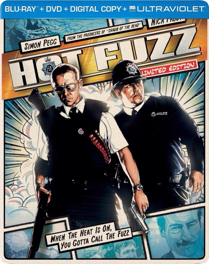 Hot Fuzz - Blu-ray cover
