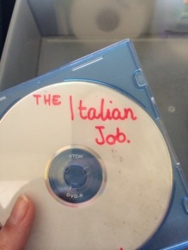 The Italian Job -  cover