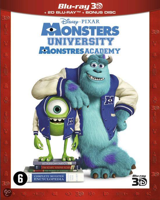 Monsters University - DVD cover