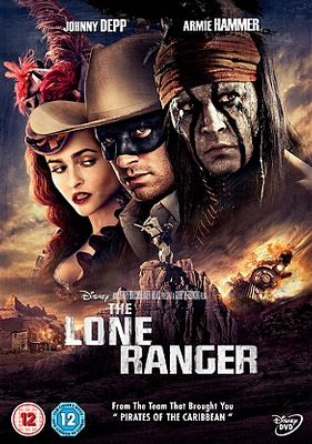 The Lone Ranger - DVD cover