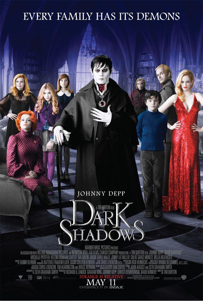 Dark Shadows - DVD cover