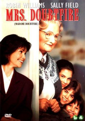 Mrs. Doubtfire - VHS cover