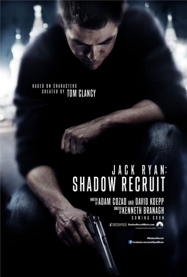 Jack Ryan: Shadow Recruit - Blu-ray cover