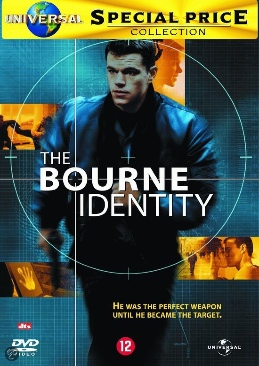 The Bourne Identity - Video CD cover
