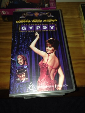 Gypsy - VHS cover