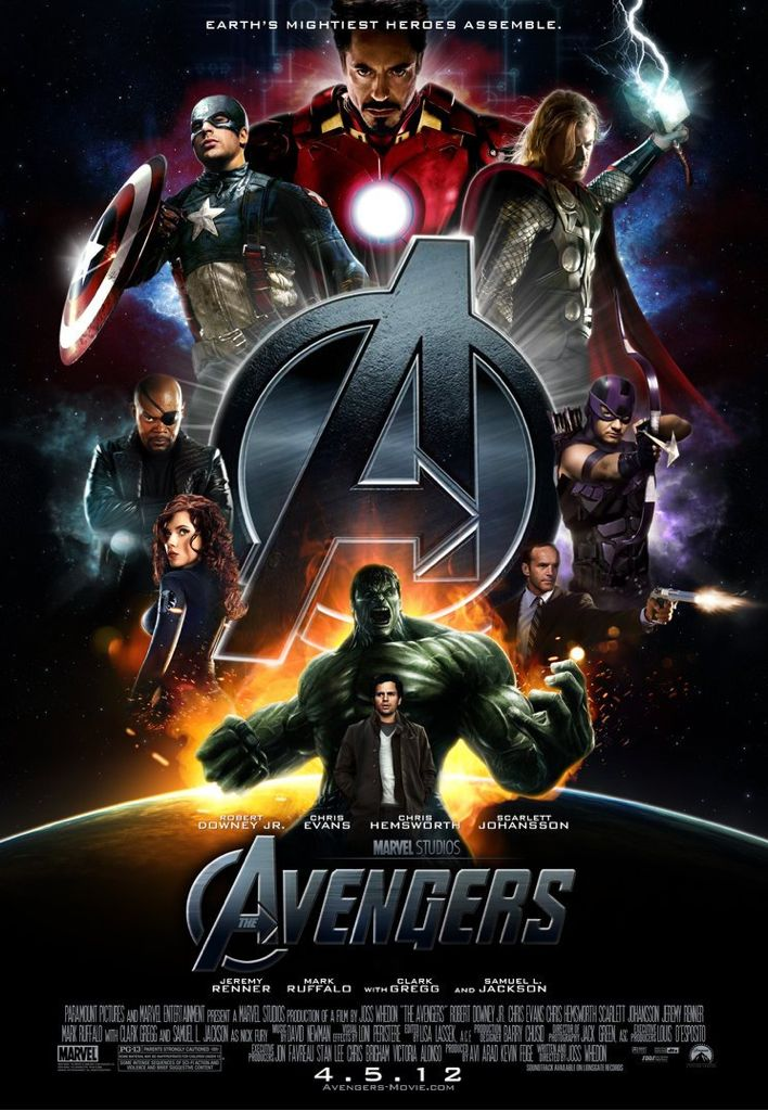 The Avengers - HD DVD cover