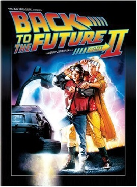 Back To The Future Part II - DVD cover