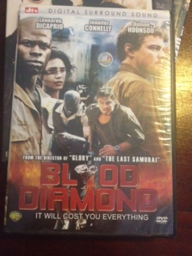 Blood diamond - DVD cover