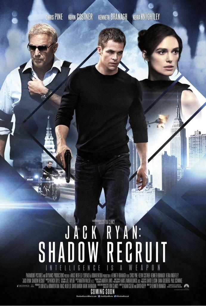 Jack Ryan: Shadow Recruit - DVD cover