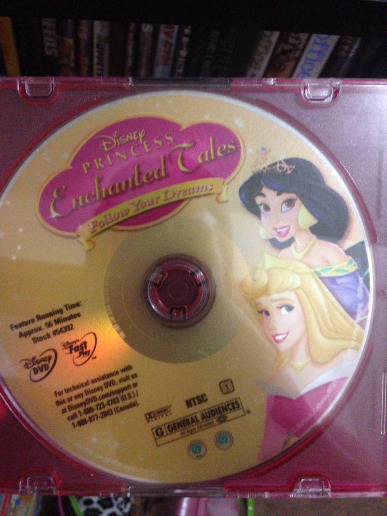 Disney Princess Enchanted Tales: Follow Your Dreams -  cover