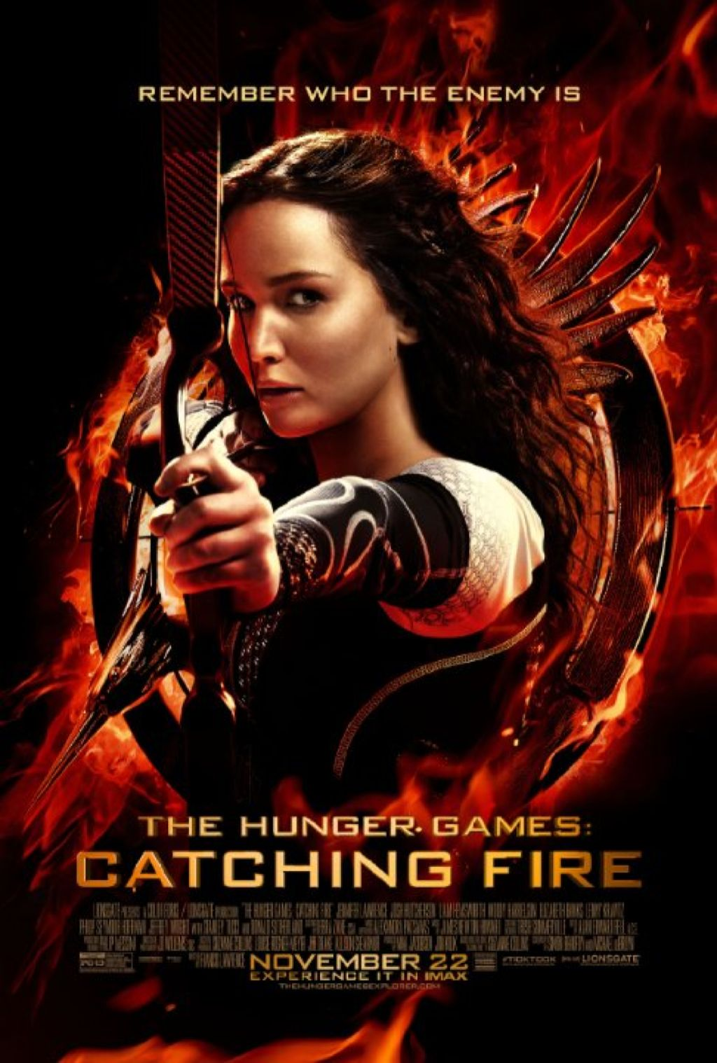 The Hunger Games: Catching Fire - Blu-ray cover