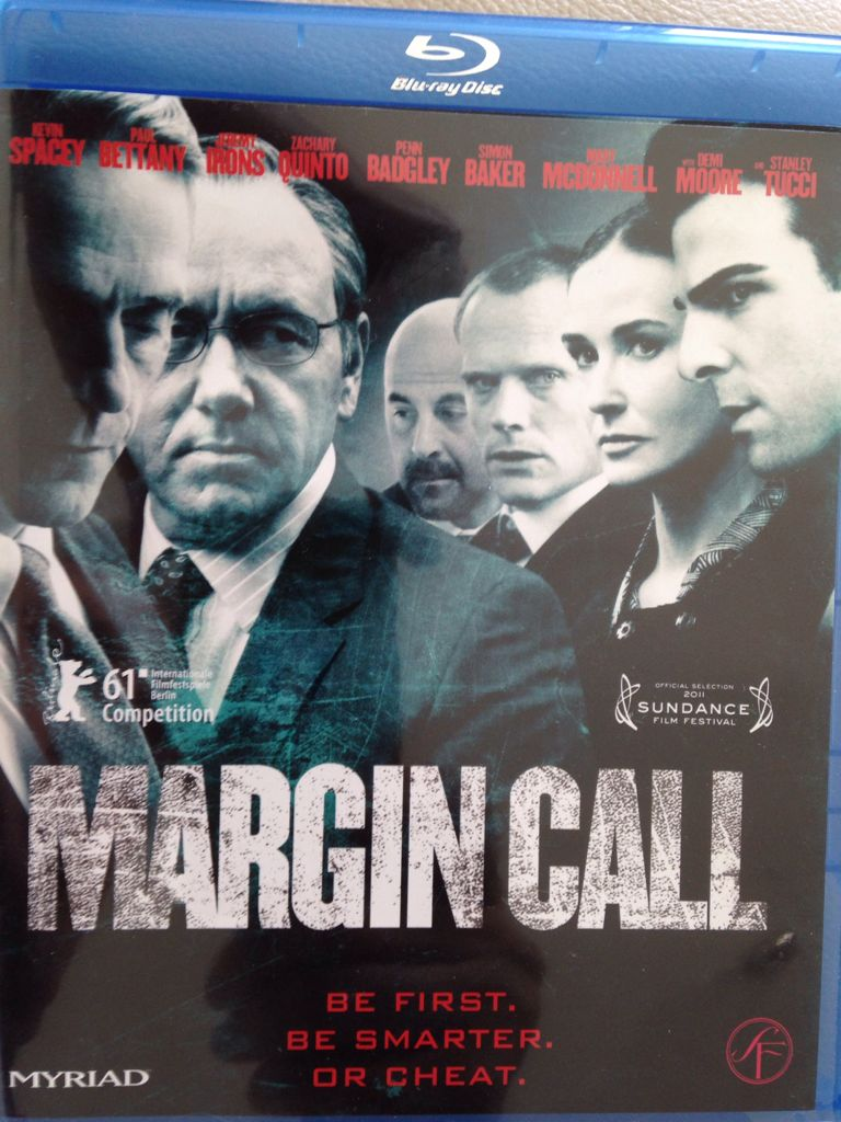 Margin Call - Video CD cover