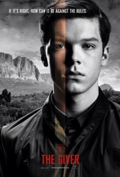 The Giver - DVD cover