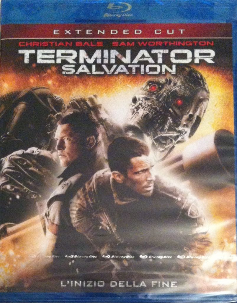 Terminator Salvation - Blu-ray cover