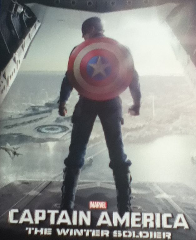 Captain America: The Winter Soldier -  cover