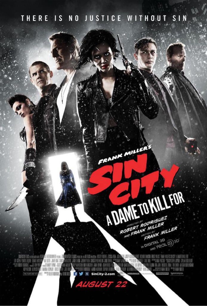 Sin City: A Dame To Kill For - Blu-ray cover
