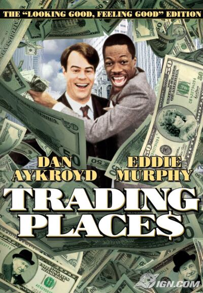 Trading Places - VHS cover