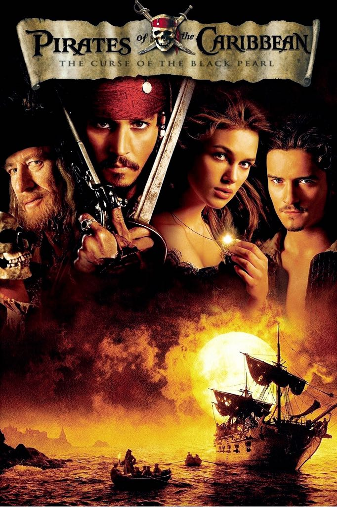 Pirates of the Caribbean 1: The Curse of the Black Pearl - Digital Copy cover